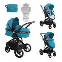 Бебешка количка lumina dark blue