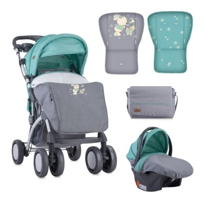 Бебешка количка toledo set grey&green bunnies 10021191837
