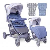 Бебешка количка s-300 grey rhombs