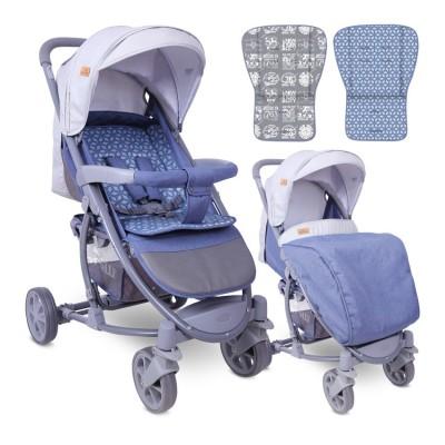 Бебешка количка s-300 grey rhombs 10020841960