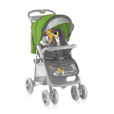 Бебешка количка foxy сет green&grey safari 10020381541