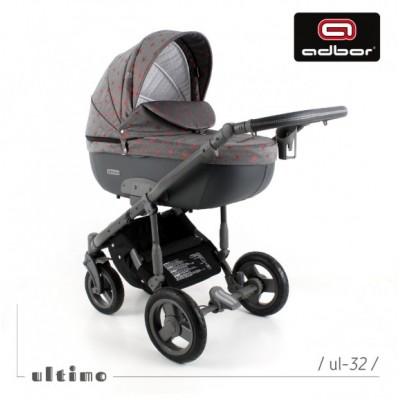 Бебешка количка Zarra Ultimo 3в1 - UL32 30158